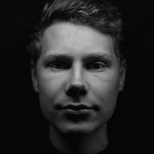 man, portrait, black-and-white