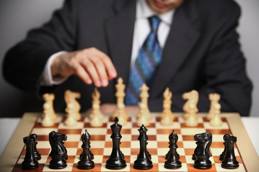 chess, chessboard, suit