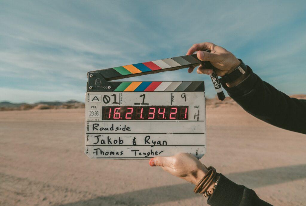 film, clapperboard, movie