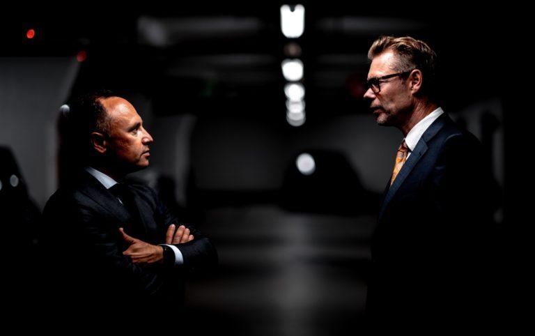 men, business, talk